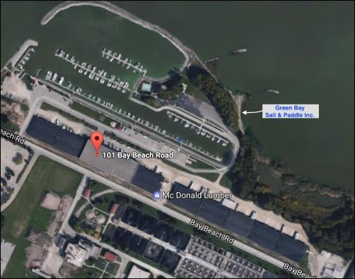 When You Enter The Marina Follow Signs That Say Green Bay Sail Paddle